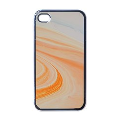 Orange And Blue 2 Apple Iphone 4 Case (black) by WILLBIRDWELL