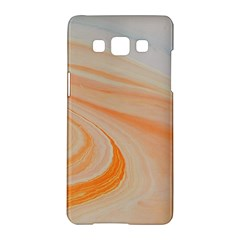 Orange And Blue 2 Samsung Galaxy A5 Hardshell Case