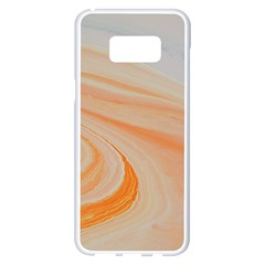 Orange And Blue 2 Samsung Galaxy S8 Plus White Seamless Case
