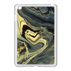 Yellow Nebula Apple Ipad Mini Case (white) by WILLBIRDWELL