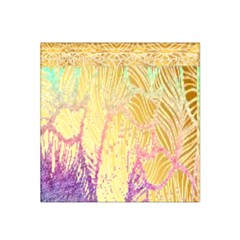 Gold Seamless Lace Tropical Colors By Flipstylez Designs Satin Bandana Scarf