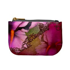 Flowers In Soft Violet Colors Mini Coin Purse