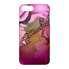 Flowers In Soft Violet Colors Apple Iphone 7 Plus Hardshell Case