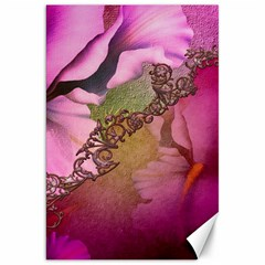 Flowers In Soft Violet Colors Canvas 20  X 30  by FantasyWorld7