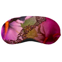 Flowers In Soft Violet Colors Sleeping Masks by FantasyWorld7