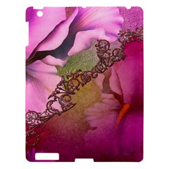 Flowers In Soft Violet Colors Apple Ipad 3/4 Hardshell Case by FantasyWorld7