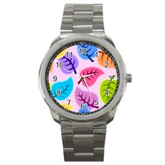 Backdrop Background Beautiful Sport Metal Watch