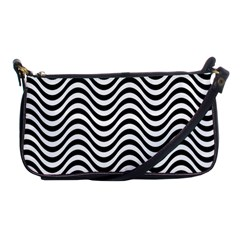 Wave Pattern Wavy Water Seamless Shoulder Clutch Bag