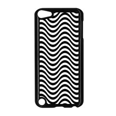 Wave Pattern Wavy Water Seamless Apple Ipod Touch 5 Case (black)