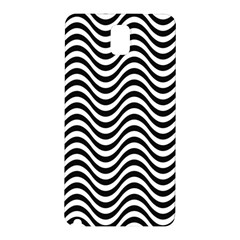 Wave Pattern Wavy Water Seamless Samsung Galaxy Note 3 N9005 Hardshell Back Case by Nexatart