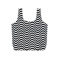 Wave Pattern Wavy Water Seamless Full Print Recycle Bag (s)