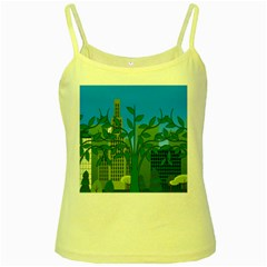 Environmental Protection Yellow Spaghetti Tank
