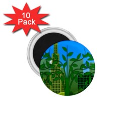 Environmental Protection 1 75  Magnets (10 Pack)