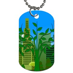 Environmental Protection Dog Tag (two Sides)