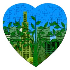 Environmental Protection Jigsaw Puzzle (heart)