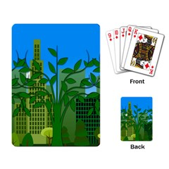Environmental Protection Playing Cards Single Design