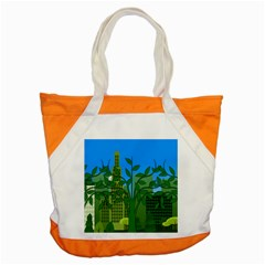 Environmental Protection Accent Tote Bag