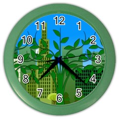 Environmental Protection Color Wall Clock