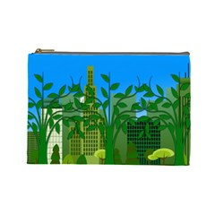 Environmental Protection Cosmetic Bag (large)