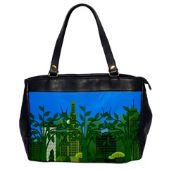 Environmental Protection Oversize Office Handbag