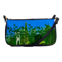 Environmental Protection Shoulder Clutch Bag