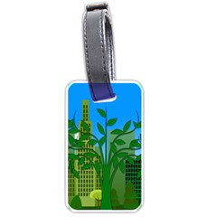 Environmental Protection Luggage Tags (one Side)