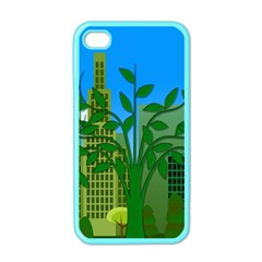 Environmental Protection Apple Iphone 4 Case (color)