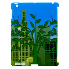 Environmental Protection Apple Ipad 3/4 Hardshell Case (compatible With Smart Cover)