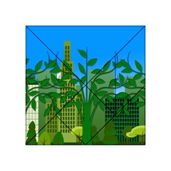 Environmental Protection Acrylic Tangram Puzzle (4  X 4 )