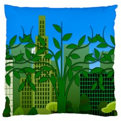 Environmental Protection Large Cushion Case (two Sides)