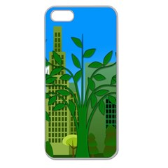 Environmental Protection Apple Seamless Iphone 5 Case (clear)
