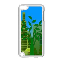 Environmental Protection Apple Ipod Touch 5 Case (white)