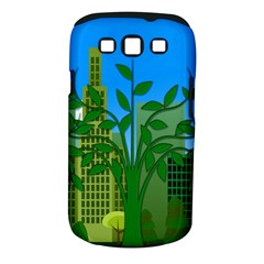 Environmental Protection Samsung Galaxy S Iii Classic Hardshell Case (pc+silicone)