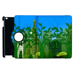 Environmental Protection Apple Ipad 2 Flip 360 Case by Nexatart