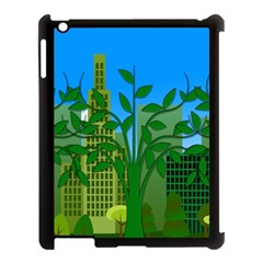 Environmental Protection Apple Ipad 3/4 Case (black)