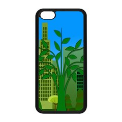 Environmental Protection Apple Iphone 5c Seamless Case (black) by Nexatart