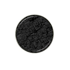 Black Rectangle Wallpaper Grey Hat Clip Ball Marker (10 Pack)