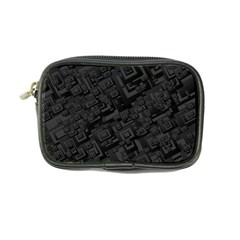 Black Rectangle Wallpaper Grey Coin Purse