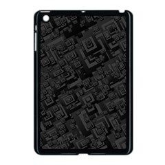 Black Rectangle Wallpaper Grey Apple Ipad Mini Case (black)