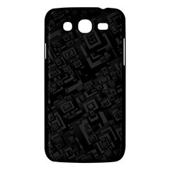 Black Rectangle Wallpaper Grey Samsung Galaxy Mega 5 8 I9152 Hardshell Case