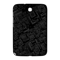 Black Rectangle Wallpaper Grey Samsung Galaxy Note 8 0 N5100 Hardshell Case