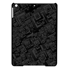 Black Rectangle Wallpaper Grey Ipad Air Hardshell Cases