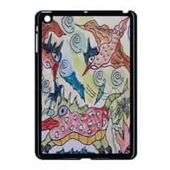 Watercolor Postcard2 Apple Ipad Mini Case (black)