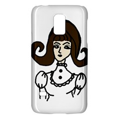 Girl With Dress Samsung Galaxy S5 Mini Hardshell Case