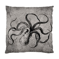Vintage Octopus  Standard Cushion Case (one Side) by Valentinaart