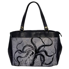 Vintage Octopus  Oversize Office Handbag by Valentinaart