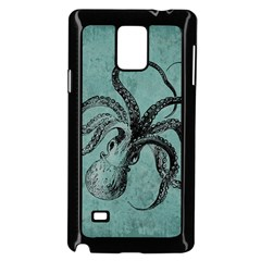 Vintage Octopus  Samsung Galaxy Note 4 Case (black)