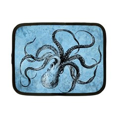 Vintage Octopus  Netbook Case (small) by Valentinaart