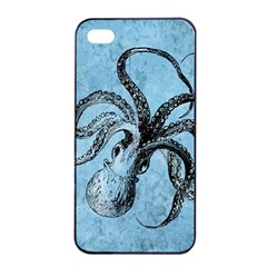 Vintage Octopus  Apple Iphone 4/4s Seamless Case (black)
