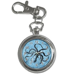 Vintage Octopus  Key Chain Watches by Valentinaart